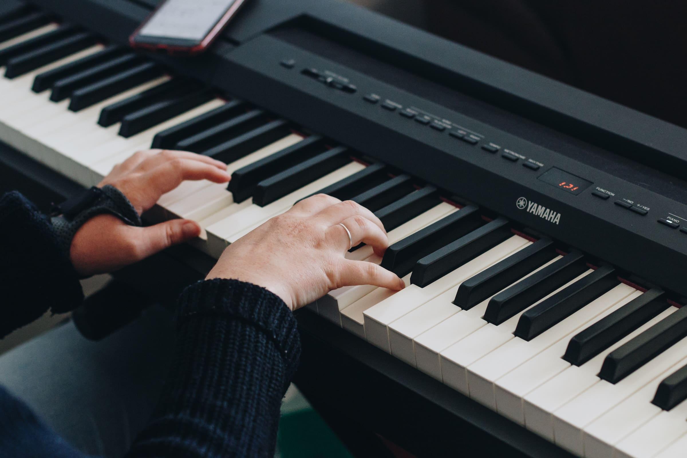 Meilleur piano numérique Yamaha